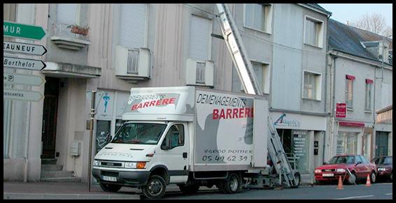 camion déménagement trans barerre gautier elevateur